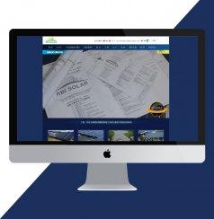 貴州網站建設案例:萊福兄弟太陽能系統