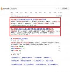 贵州SEO网站优化公司案例:资金证明